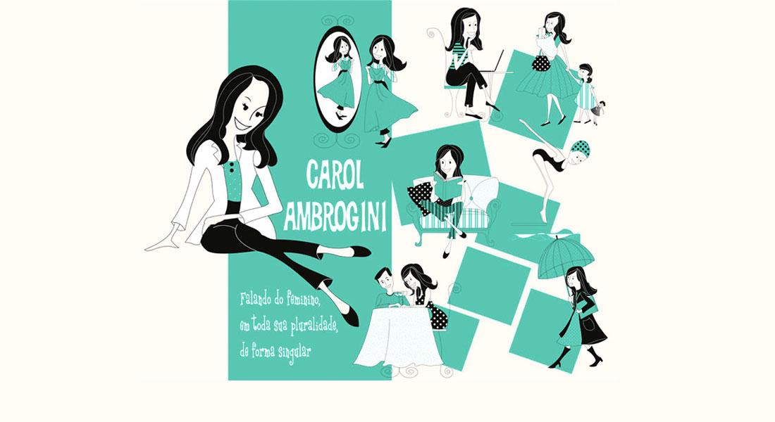 Dra. Carol Ambrogini, falando do Feminino, Em toda sua pluralidade, de forma singular