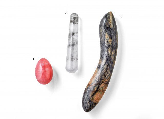 Sex Toys de Cristal e Pedra