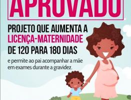 Licença-Maternidade aumenta