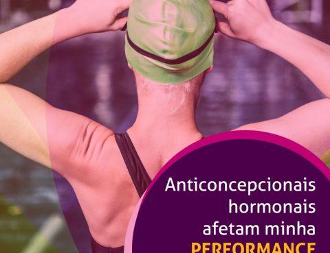 Contraceptivos podem afetar minha performance esportiva